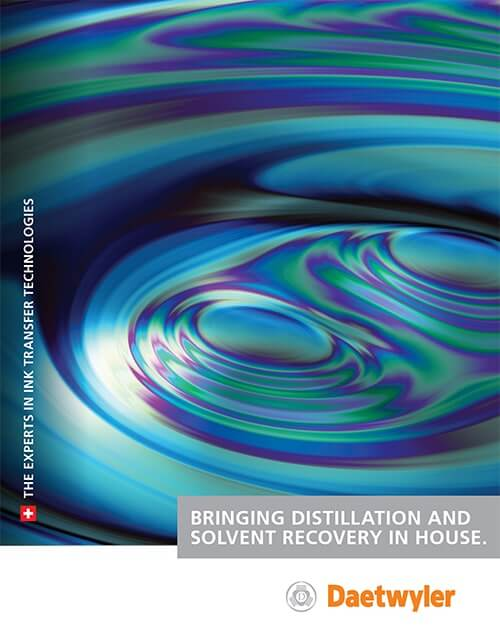 Daetwyler Distillation and Solvent Recovery case study