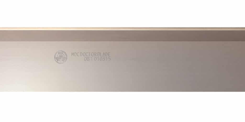 MDC Utralife is a Doctor Blade product, produced by Daetwyler. The blade reduces defects in the entire print run and delivers precise ink metering.