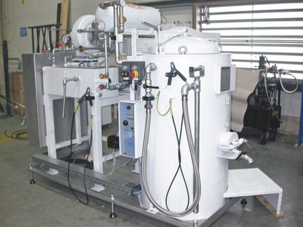 Renzmann dw series white. The unit is easily maintained and also has continuous distillation capabilities depending on your needs.
