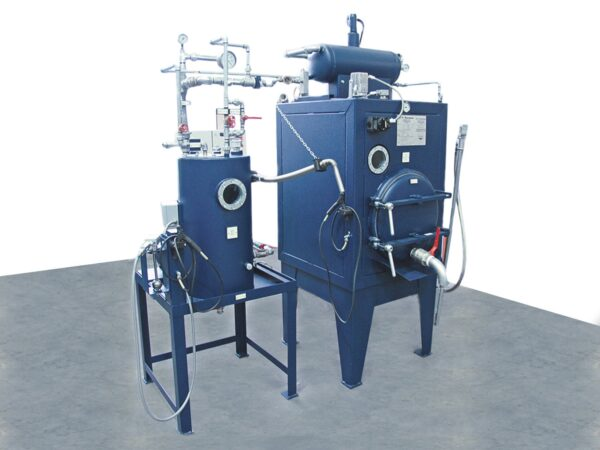 Solvent recovery Renzmann m series. The M Series is used for the recovery of contaminated solvents such as concentration of residual-inks and paint