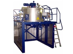 Solvent Recovery – Renzmann Distillation Unit Model ROTOmaX. For Large-size Solvent Generators