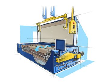 renzmann TYPE 140 Cleans gravure cylinders and other printing press parts such as ink pans, ink containers, doctor blades